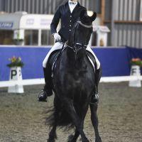ZZZ Margriet Koopmans Wiersma met Tallina K.W. (v. Dries) (KFPS sport Sonnega) 20160220 DSC 8124