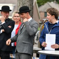 Egberth de Rink, Harry van Middelaar en Steffie Verhagen 1986